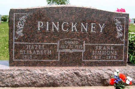 PINCKNEY, FRANK SIMMONS - Madison County, Iowa | FRANK SIMMONS PINCKNEY