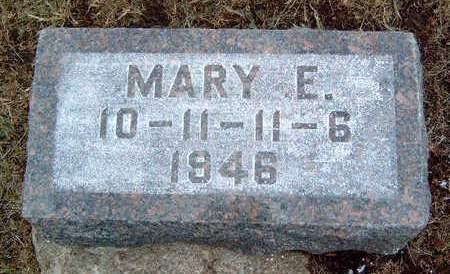 EIVINS, MARY ELLEN - Madison County, Iowa   MARY ELLEN EIVINS