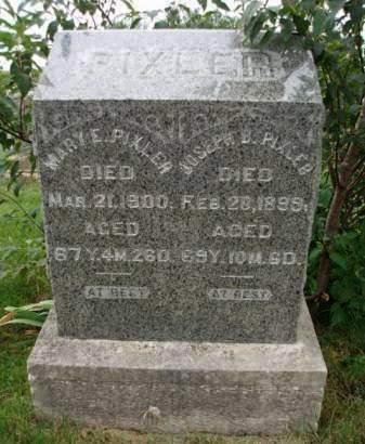 PIXLER, JOSEPH BUTTERBAUGH - Madison County, Iowa   JOSEPH BUTTERBAUGH PIXLER