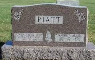 PIATT, GWENDOLYN HELEN C. - Madison County, Iowa | GWENDOLYN HELEN C. PIATT