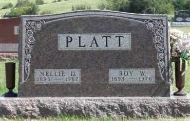 PLATT, NELLIE DAISY - Madison County, Iowa   NELLIE DAISY PLATT