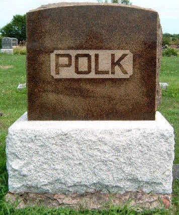 POLK, FAMILY STONE - Madison County, Iowa   FAMILY STONE POLK