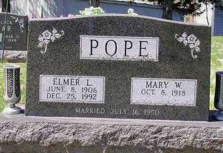 POPE, ELMER LEE - Madison County, Iowa | ELMER LEE POPE