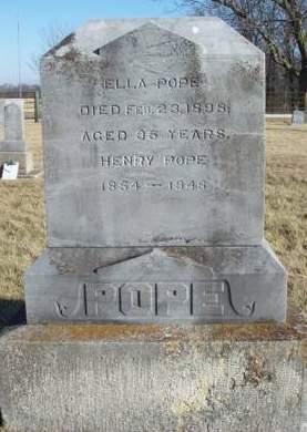 POPE, ELLA M. - Madison County, Iowa | ELLA M. POPE