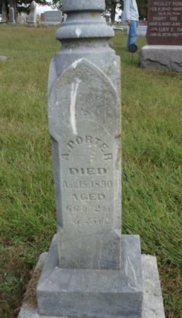PORTER, AARON DUDLEY - Madison County, Iowa | AARON DUDLEY PORTER