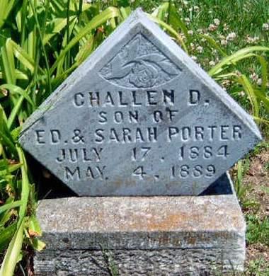 PORTER, CHALLEN D. - Madison County, Iowa | CHALLEN D. PORTER