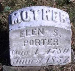 PORTER, ELLEN S. - Madison County, Iowa | ELLEN S. PORTER