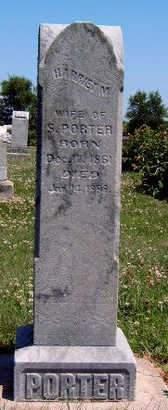 PORTER, HARRIET M. - Madison County, Iowa | HARRIET M. PORTER