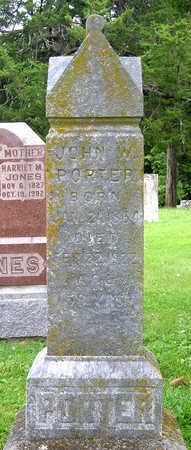 PORTER, JOHN W. - Madison County, Iowa | JOHN W. PORTER