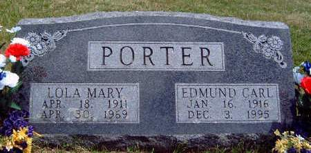 PORTER, LOLA MARY - Madison County, Iowa | LOLA MARY PORTER
