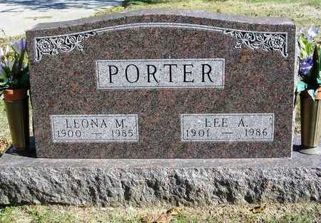 PORTER, LEONA MATTIE - Madison County, Iowa | LEONA MATTIE PORTER