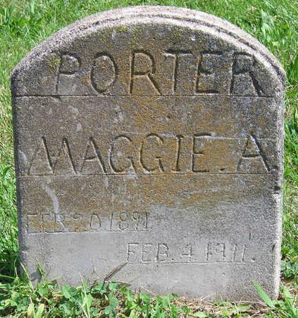 PORTER, MAGGIE ALICE - Madison County, Iowa | MAGGIE ALICE PORTER