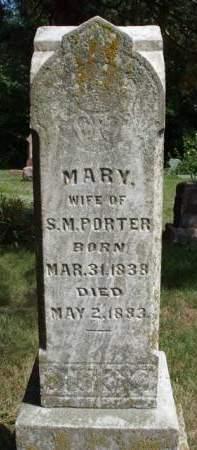 PORTER, MARY - Madison County, Iowa | MARY PORTER