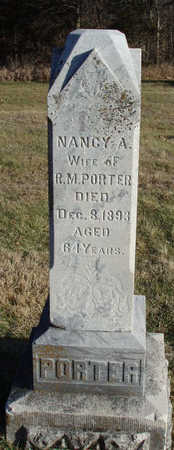 PORTER, NANCY ADELINE - Madison County, Iowa   NANCY ADELINE PORTER