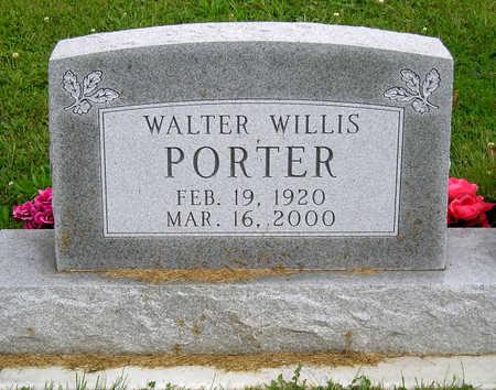 PORTER, WALTER WILLIS - Madison County, Iowa | WALTER WILLIS PORTER
