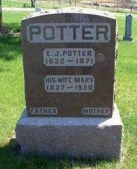 POTTER, MARY LOGAN - Madison County, Iowa | MARY LOGAN POTTER
