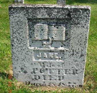 POTTER, JANE - Madison County, Iowa | JANE POTTER