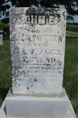 POTTER, JOHN E. - Madison County, Iowa | JOHN E. POTTER
