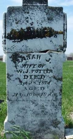 POTTER, SARAH JANE - Madison County, Iowa | SARAH JANE POTTER