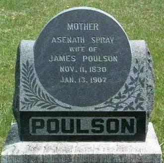 POULSON, ASENATH - Madison County, Iowa   ASENATH POULSON