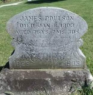 POULSON, JAMES - Madison County, Iowa   JAMES POULSON