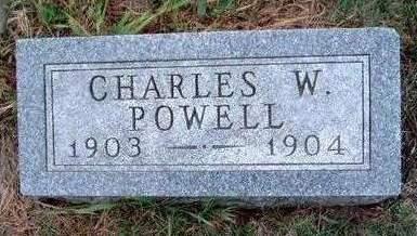 POWELL, CHARLES WILLIAM - Madison County, Iowa | CHARLES WILLIAM POWELL