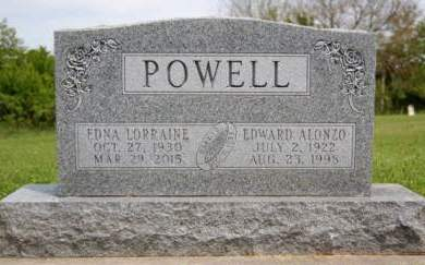 POWELL, EDNA LORRAINE - Madison County, Iowa | EDNA LORRAINE POWELL
