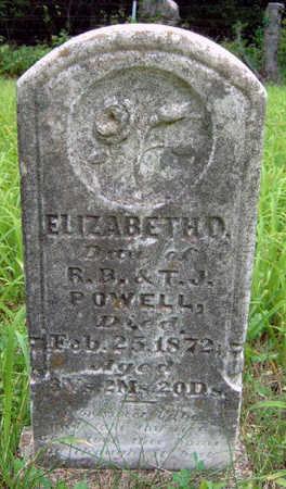 POWELL, ELIZABETH O. - Madison County, Iowa | ELIZABETH O. POWELL