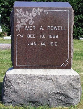 POWELL, IVER ARETOUS - Madison County, Iowa | IVER ARETOUS POWELL