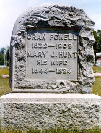 POWELL, MARY J. - Madison County, Iowa | MARY J. POWELL