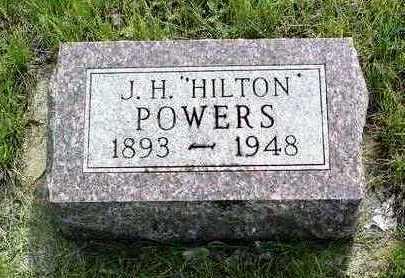 POWERS, JOHN HARRY HILTON / HYLTON - Madison County, Iowa | JOHN HARRY HILTON / HYLTON POWERS