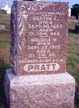 PRATT, BERTHA EDITH - Madison County, Iowa | BERTHA EDITH PRATT