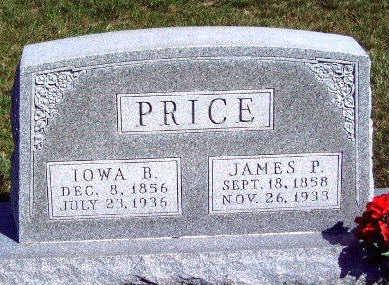 PRICE, IOWA BELLE - Madison County, Iowa   IOWA BELLE PRICE