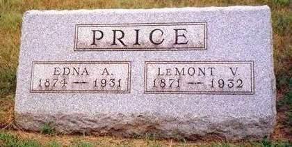 PRICE, LEMONT VERNON - Madison County, Iowa   LEMONT VERNON PRICE