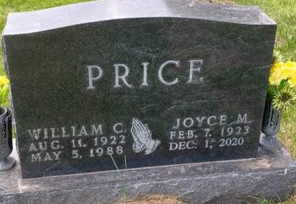 NIKOLAISON PRICE, JOYCE - Madison County, Iowa | JOYCE NIKOLAISON PRICE