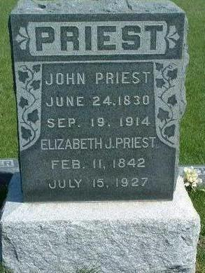 PRIEST, ELIZABETH JANE - Madison County, Iowa | ELIZABETH JANE PRIEST