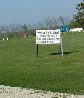 PRIMITIVE BAPTIST, CEMETERY - Madison County, Iowa | CEMETERY PRIMITIVE BAPTIST