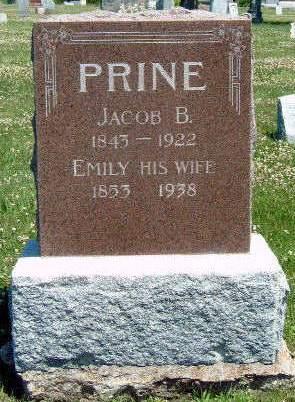 PRINE, JACOB B. - Madison County, Iowa | JACOB B. PRINE