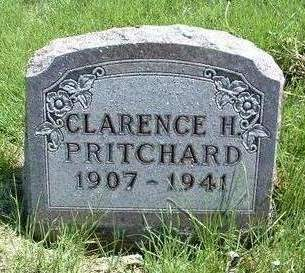 PRITCHARD, CLARENCE H. - Madison County, Iowa | CLARENCE H. PRITCHARD
