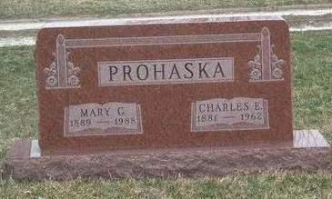 PROHASKA, CHARLES E. - Madison County, Iowa | CHARLES E. PROHASKA