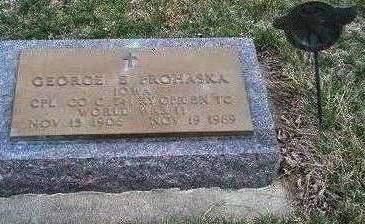 PROHASKA, GEORGE EDWARD - Madison County, Iowa | GEORGE EDWARD PROHASKA