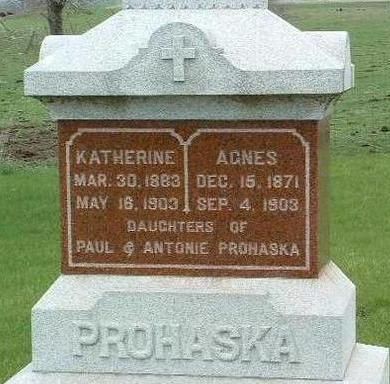 PROHASKA, AGNES - Madison County, Iowa | AGNES PROHASKA