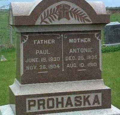 PROHASKA, ANTONIA - Madison County, Iowa | ANTONIA PROHASKA