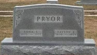PRYOR, DAYTON ELDON - Madison County, Iowa   DAYTON ELDON PRYOR