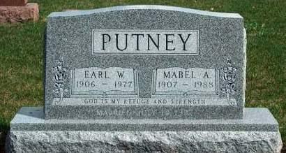 PUTNEY, MABEL AMELIA - Madison County, Iowa | MABEL AMELIA PUTNEY