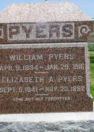 PYERS, ELIZABETH ANN - Madison County, Iowa | ELIZABETH ANN PYERS