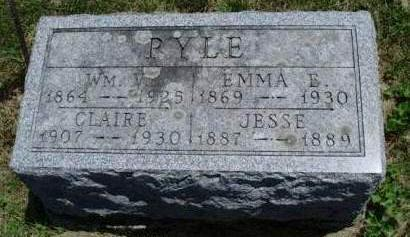 PYLE, EMMA ERMINE - Madison County, Iowa | EMMA ERMINE PYLE