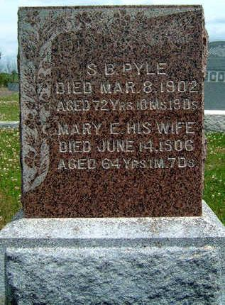 PYLE, MARY ELIZABETH - Madison County, Iowa | MARY ELIZABETH PYLE