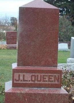 QUEEN, JOHN LEWIS - Madison County, Iowa   JOHN LEWIS QUEEN