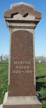 QUEEN, MARTHA ANN - Madison County, Iowa | MARTHA ANN QUEEN